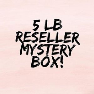 2 LEFT/ 5 LB. / 5 ⭐️ WOMEN'S MYSTERY BOX